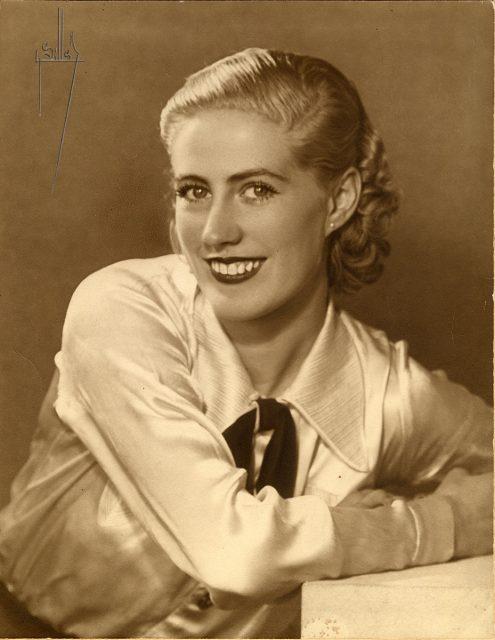 Retrato de Ana Maynard Nyborg