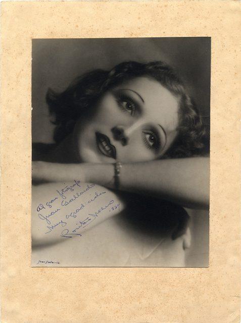 Retrato de Rosa Moreno