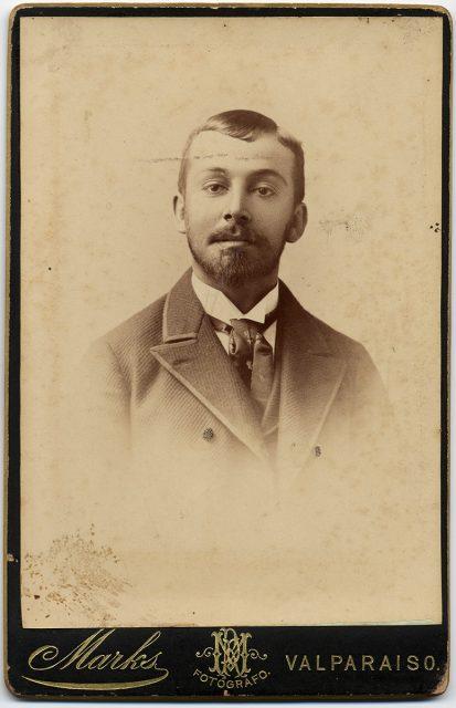 Retrato de Anselmo de la Maza Larenas