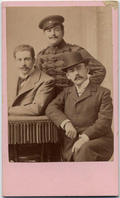 Retrato de Armando Perdugo Mülllen, Francisco de la Maza L. y Luis Bunster P.