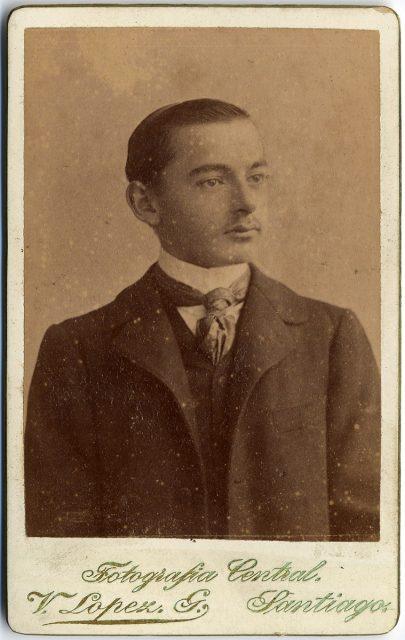Retrato de José Bunster de la Maza