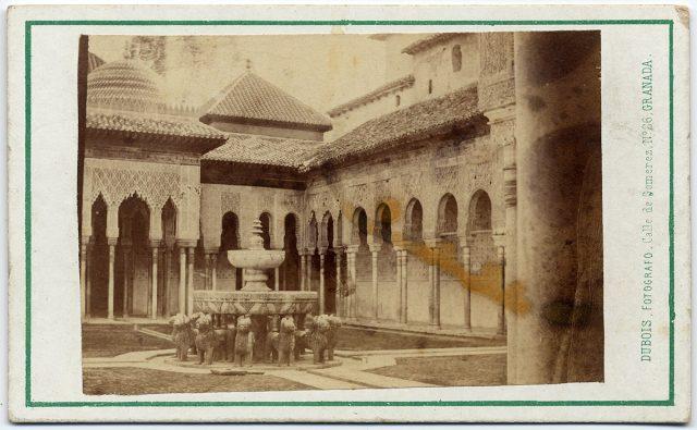 Patio de Los Leones, Palacio de La Alhambra