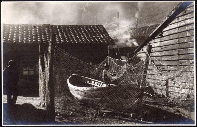 Pescadores en Concepción