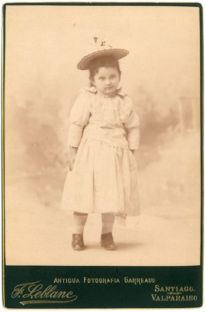 Retrato de una niña.