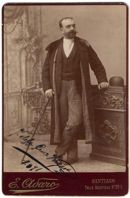 Retrato de J. de la Cruz Vergara.