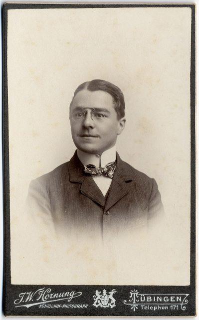 Retrato de Martin Leopolds
