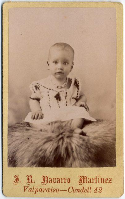 Retrato de una guagua.