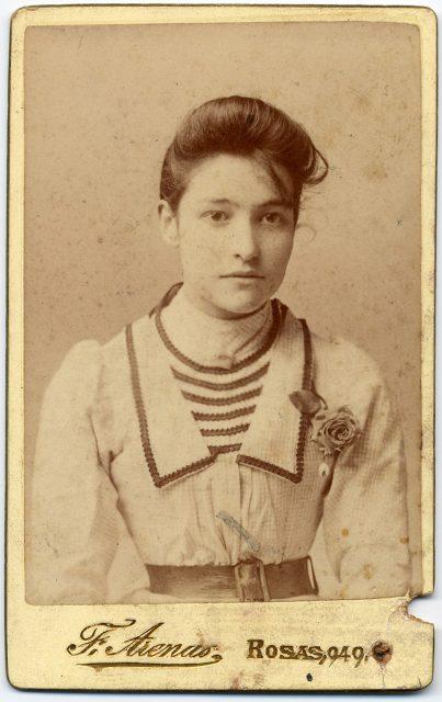 Retrato de Amelia Danckaster
