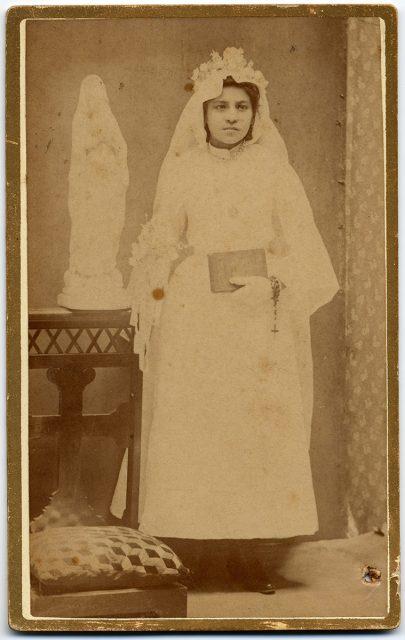 Retrato de Clarisa Prado.