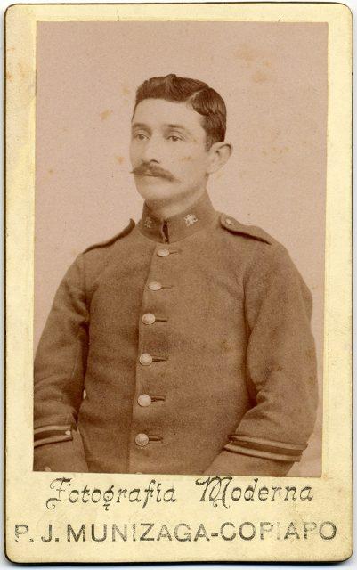 Retrato de Marcos A. Sarmiento