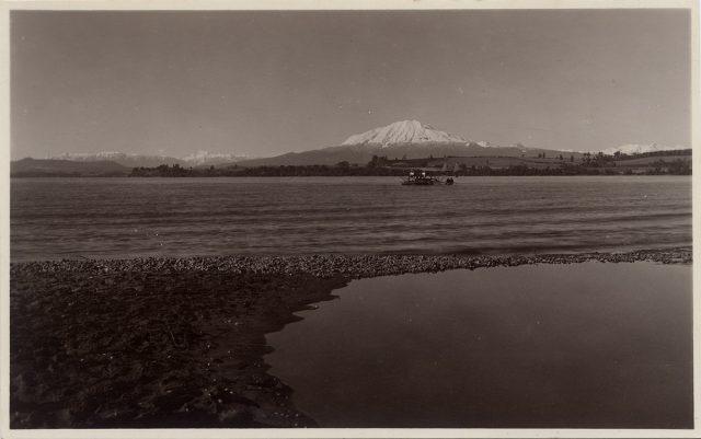Vista del Volcán Calbuco