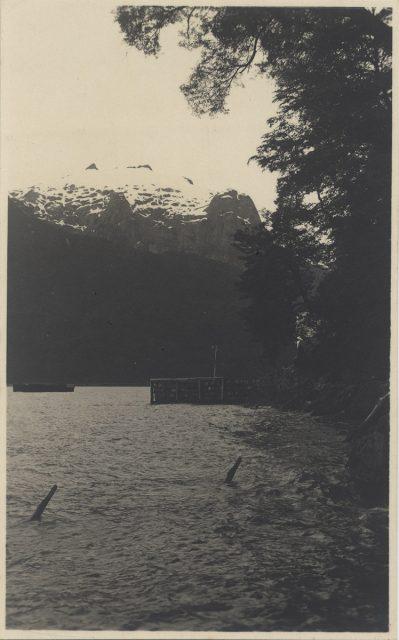 Muelle de Peulla y Cerro Techado