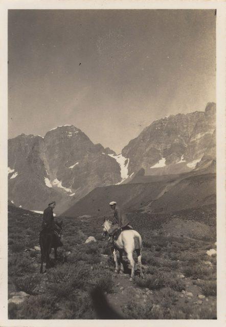 Cabalgata en la Cordillera