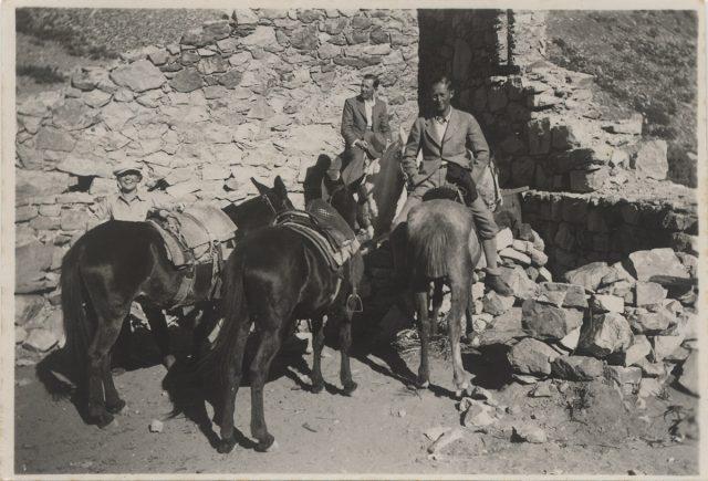 Hombres y caballos en Juncal