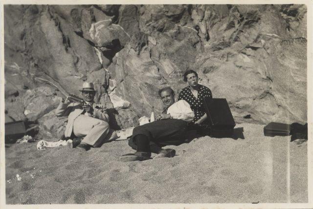 Grupo en Laguna Verde