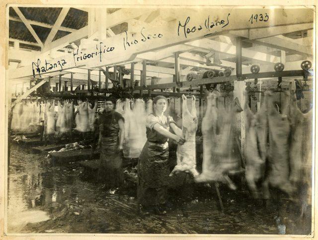 Matanza frigorífico Río Seco, Magallanes 1933.