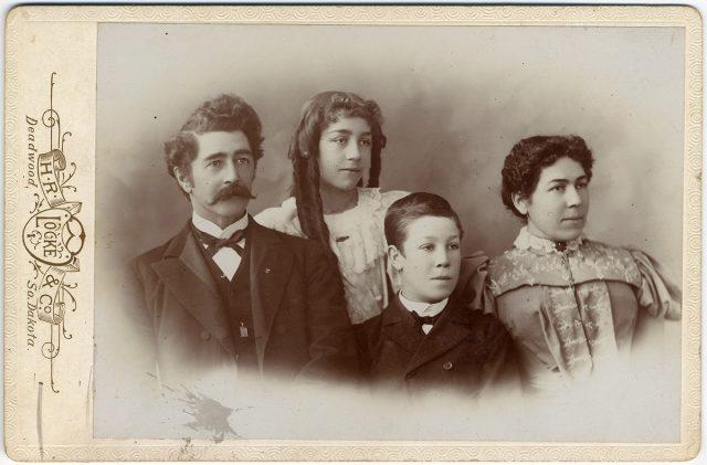Retrato de la familia Olds.