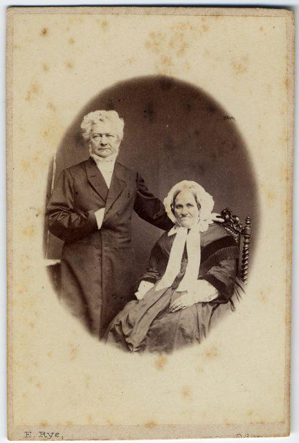 Retrato de Moritz Gotthold Krag y Antoinette Krag