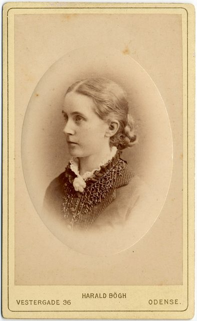 Retrato de Antoinette Frederikke Krag
