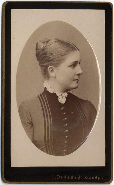 Retrato de Sophie Kocfocg f. Krag