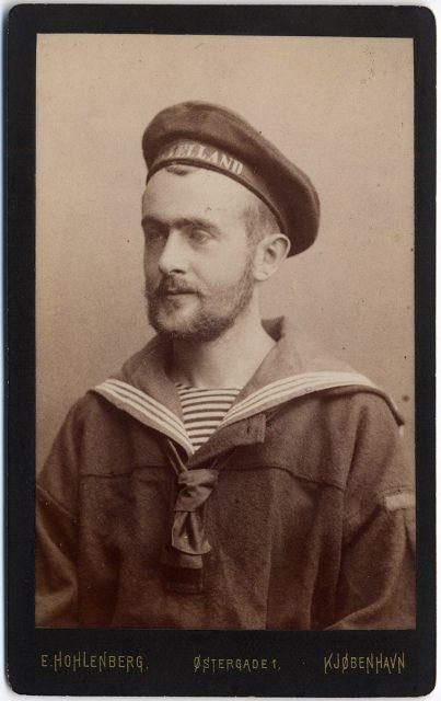 Retrato de Carl Moritz Gotthold Rosenberg Krag