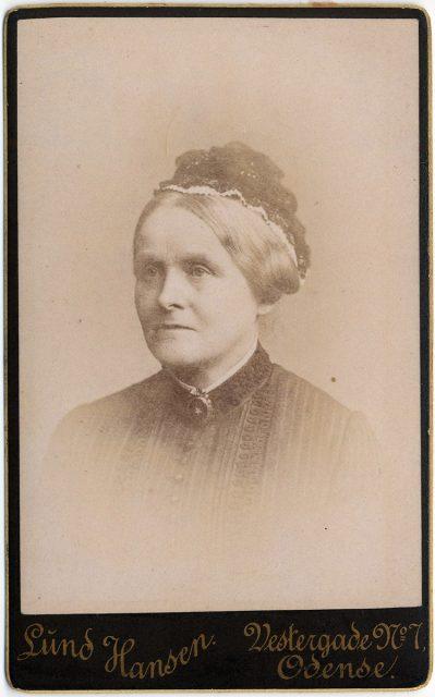 Retrato de Petsine Krag f. Patudan.