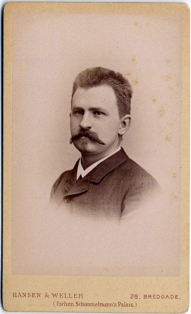 Retrato de Ludwig Engeglstoft
