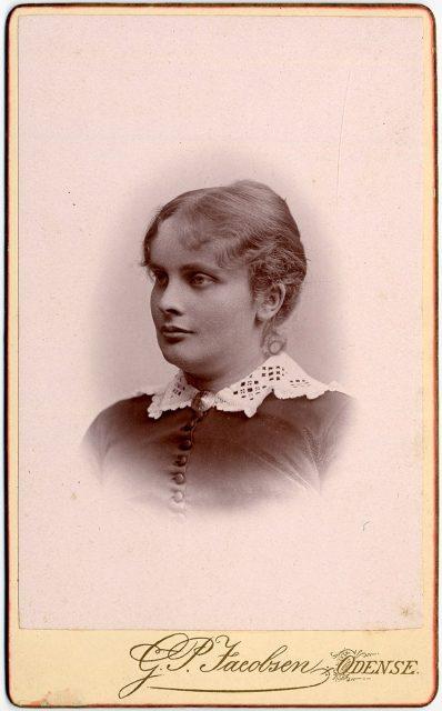 Retrato de Ingeborg Krag