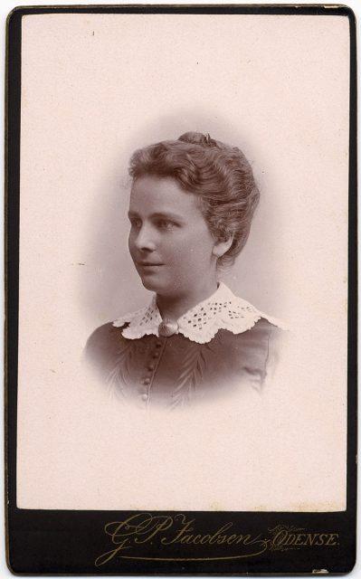 Retrato de Karine Krag f. Andersen