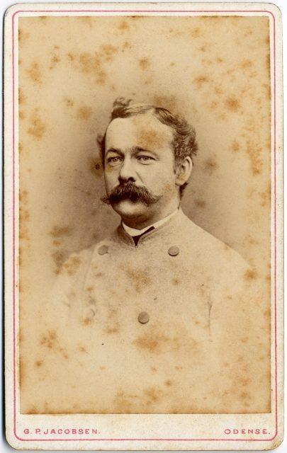 Retrato de Fritz de Leth