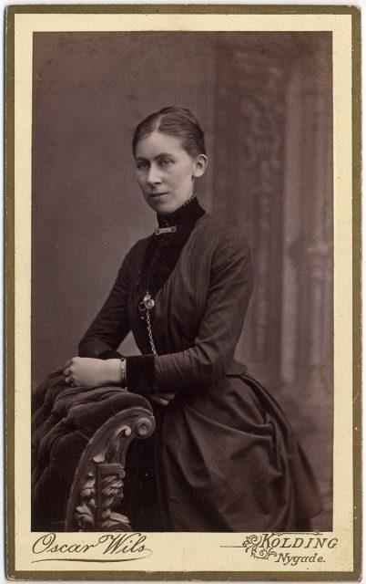 Retrato de Elisabeth Krag