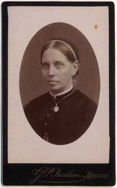 Retrato de Henriette Helweg