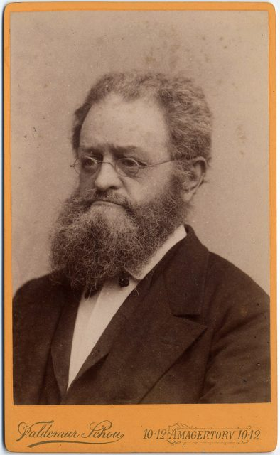 Retrato de Carl Frederik Rosenberg