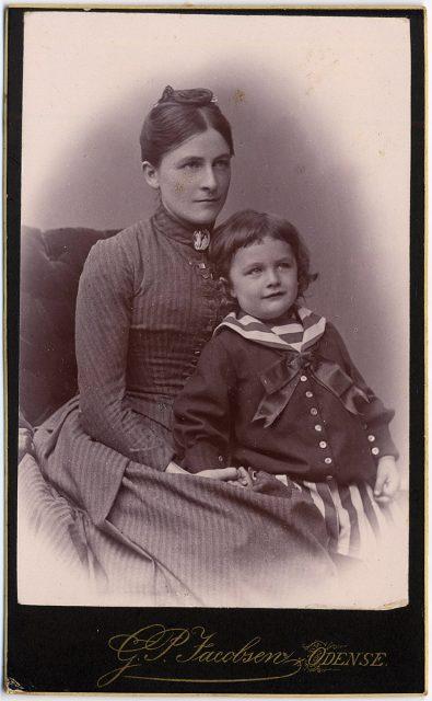 Retrato de Sofie y Waldemar Kocfocd