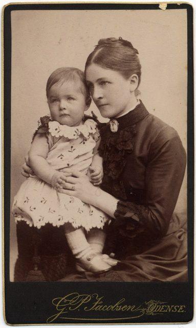 Retrato de Sofie y Valdemar Kocfocd