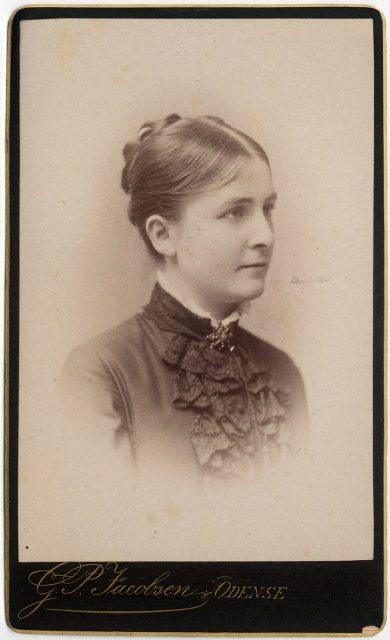 Retrato de Sophie Elisabeth Kocfocd f. Krag