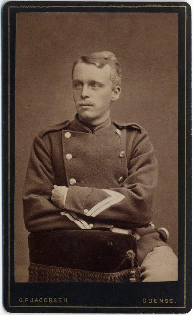 Retrato de Ludwig Warming