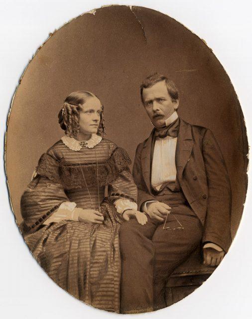 Retrato de una pareja.