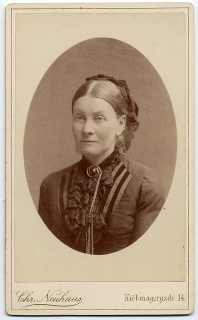 Retrato de Caroline Ridau f. Krag