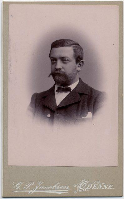 Retrato de Niels Krag