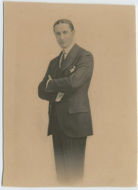 Retrato de José Granier Ballivian