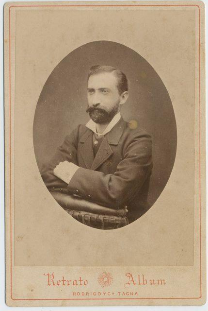Retrato de Agustín Barros