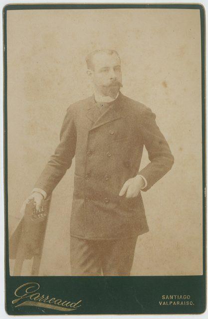 Retrato de Agustín Barros.