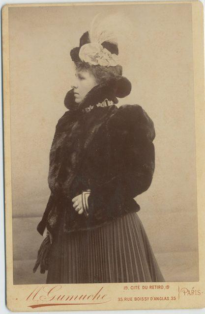Retrato de Julia F. de Zegers