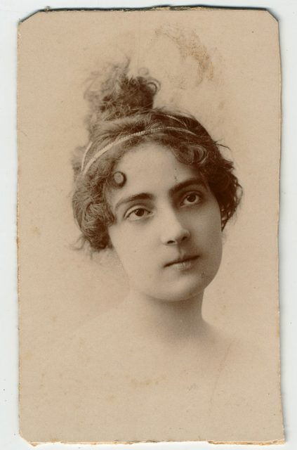 Inés Balmaceda de Pra.