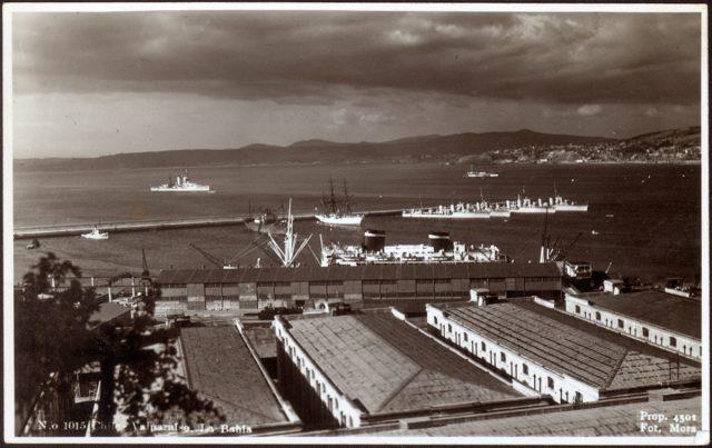 Chile – Valparaíso, La Bahía