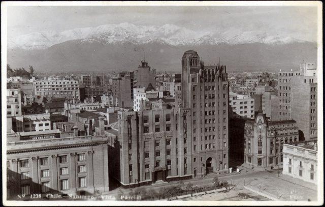 Chile – Santiago, Vista Parcial