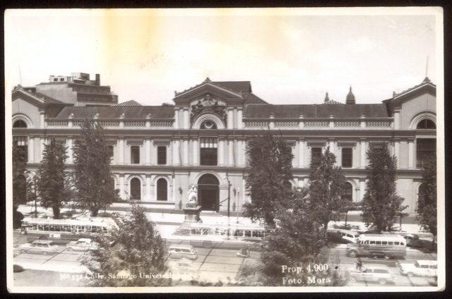 Chile, Santiago. Universidad de Chile