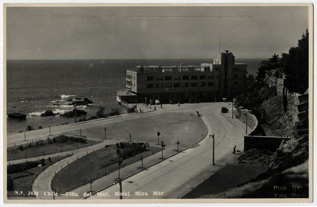 Chile – Viña del Mar, Hotel Miramar.