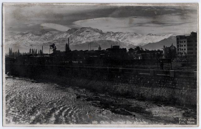 Chile, Santiago, Río Mapocho